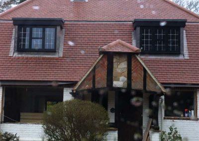 mansard roof